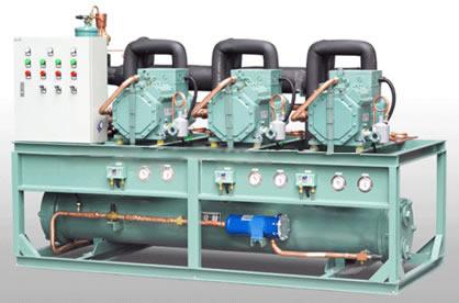 比泽尔多机并联水冷机组